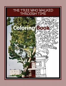 The Tree Who Walked Through Time - Coloring Book