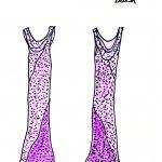 The Prom Dress Room Art by Sandy Hazlett