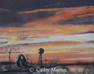 Prairie Sky by artist Cathy Martin