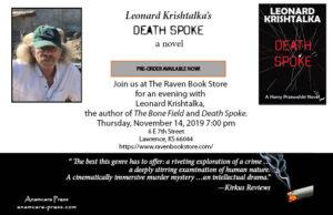 Leonard Krishtalka's Death Spoke
